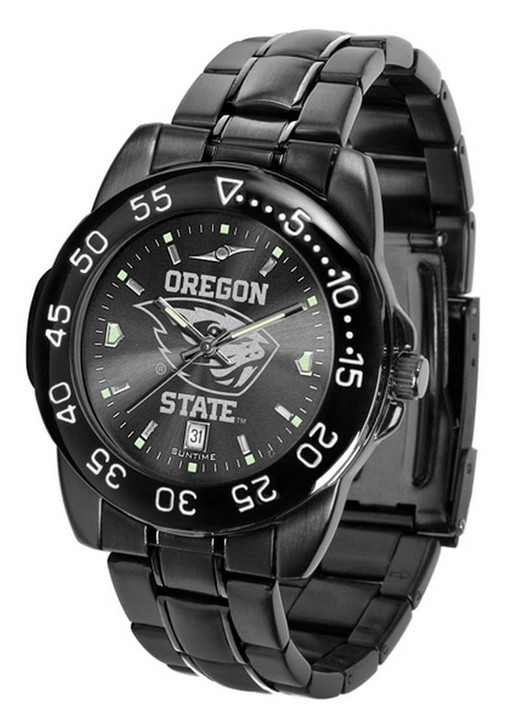 Men's Oregon State Beavers Black Watch Fantom Black Steel