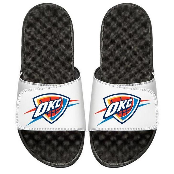 Oklahoma City Thunder Slides ISlide Primary Logo Sandals