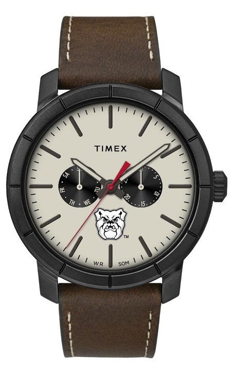 Men's Butler University Timex Watch Home Team Leather Watch