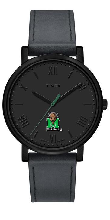 Ladies Timex Marshall University Watch Black Night Game Watch