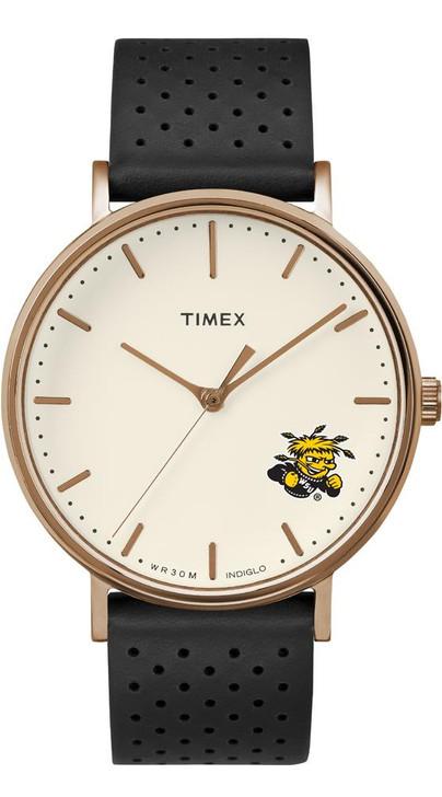 Ladies Timex Wichita State Shockers Watch Rose Gold Grace Watch