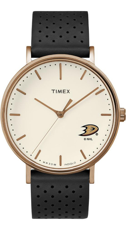 Ladies Timex Anaheim Ducks Watch Rose Gold Grace Watch