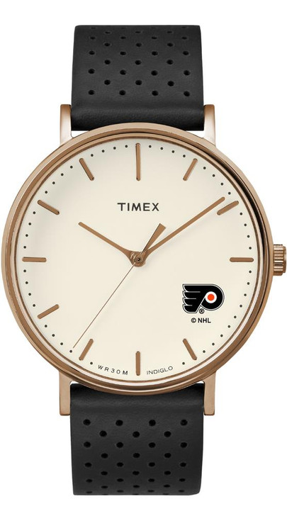 Ladies Timex Philadelphia Flyers Watch Rose Gold Grace Watch