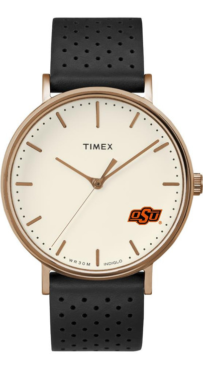 Ladies Timex Oklahoma State University Watch Rose Gold Grace Watch