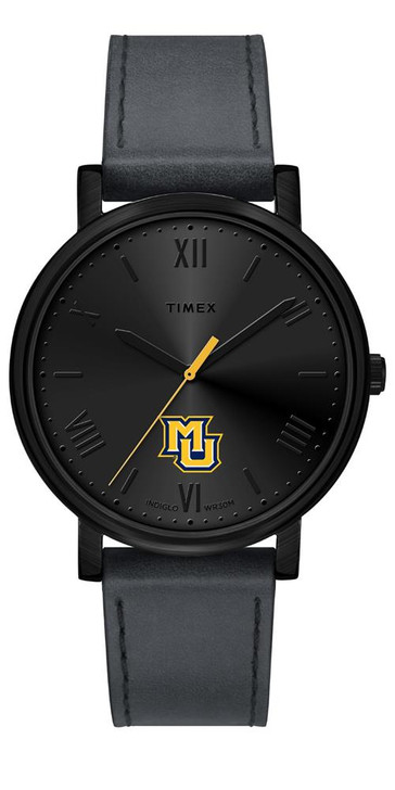 Ladies Timex Marquette University Watch Black Night Game Watch