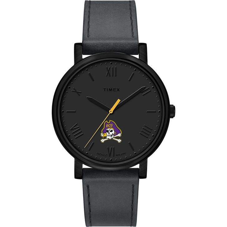 Ladies Timex ECU East Carolina University Watch Black Night Game Watch