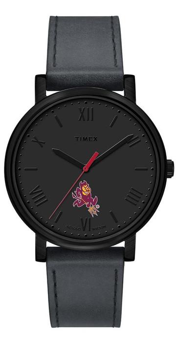 Ladies Timex Arizona State University Watch Black Night Game Watch
