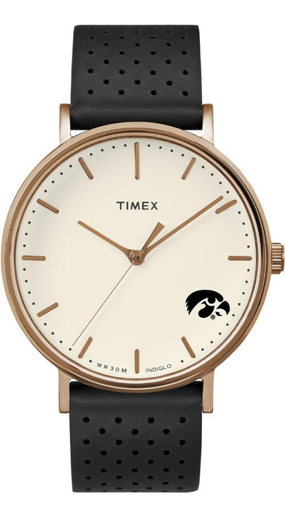 Ladies Timex University of Iowa Hawkeyes Watch Rose Gold Grace Watch