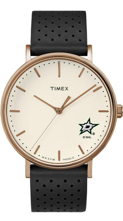 Ladies Timex Dallas Stars Watch Rose Gold Grace Watch