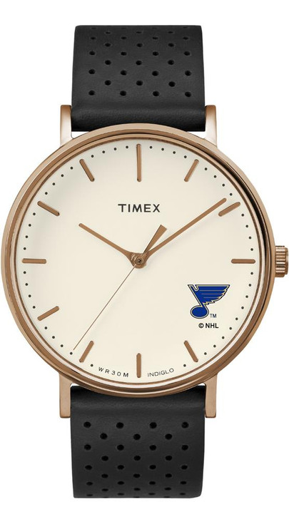 Ladies Timex Saint Louis Blues St Watch Rose Gold Grace Watch