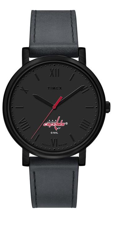 Ladies Timex Washington Capitals Watch Black Night Game Watch