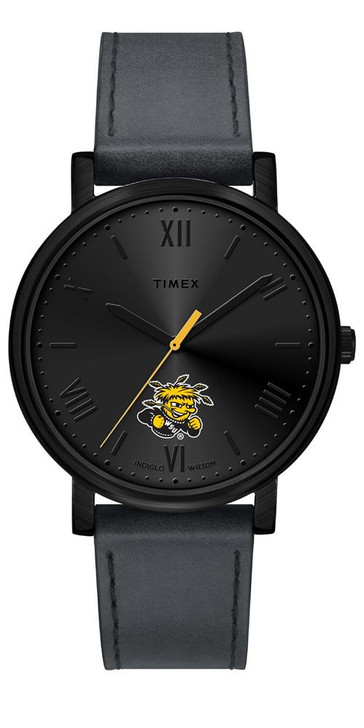 Ladies Timex Wichita State Shockers Watch Black Night Game Watch