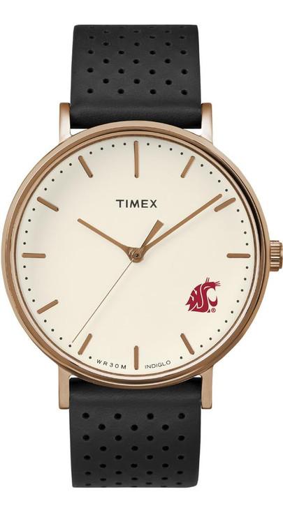 Ladies Timex Washington State University Watch Rose Gold Grace Watch