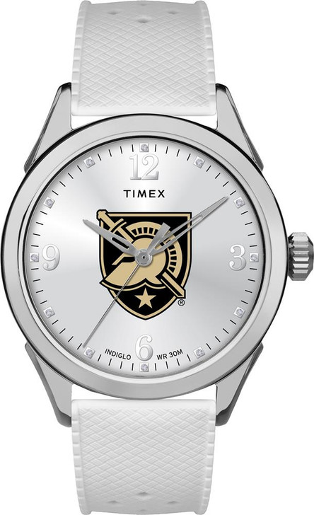 Army Black Knights Ladies Silcone Athena Timex Watch