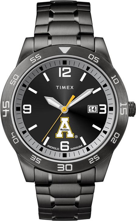 Appalachian State Men's Black Acclaim Timex Watch
