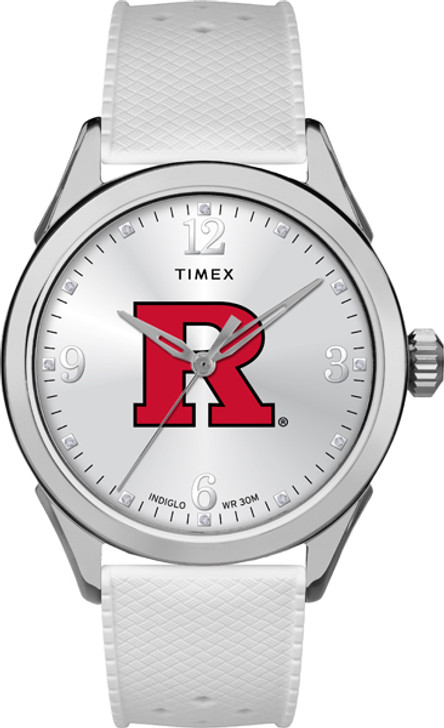 Rutgers University Ladies Silcone Athena Timex Watch