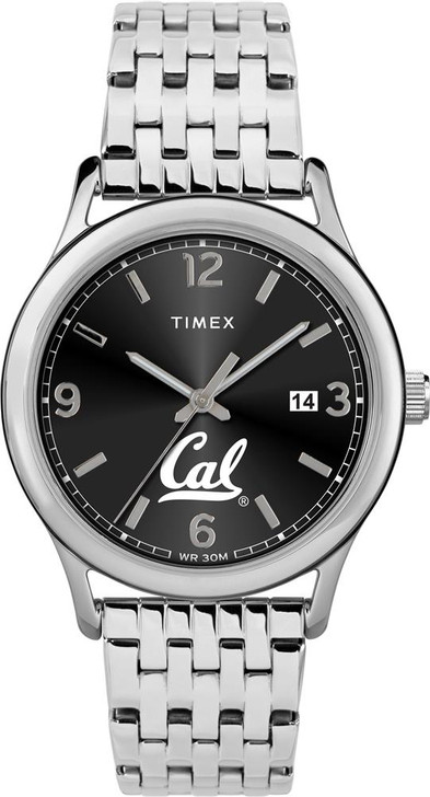 Women's Cal Berkeley Golden Bears Watch Timex Sage Stainless Watch