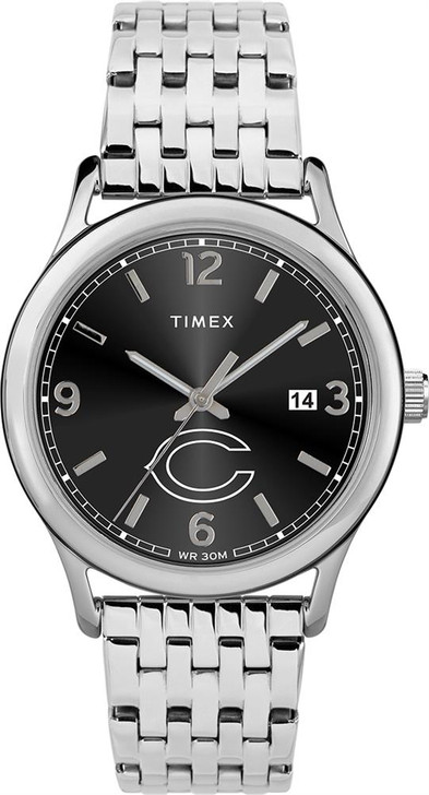 Women's Chicago Bears Watch Timex Sage Stainless Watch