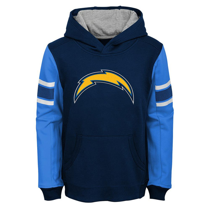 Youth San Diego Chargers Hoodie Boys NFL Pullover Sweatshirt