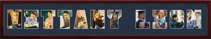 "Penn State University Collage Frame 8""h x 26""w Spirit Frame"