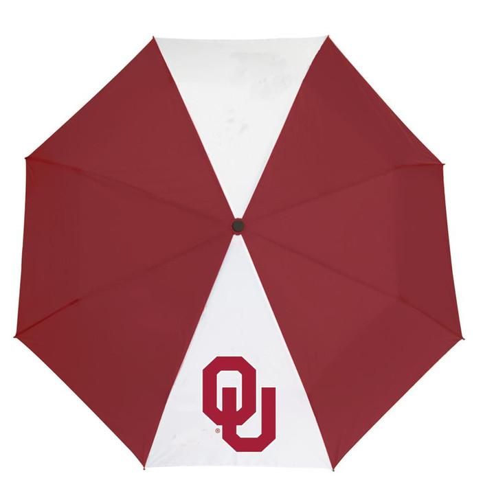 "University of Oklahoma Sooners Umbrella Auto Open 42"" Folding Umbrella"