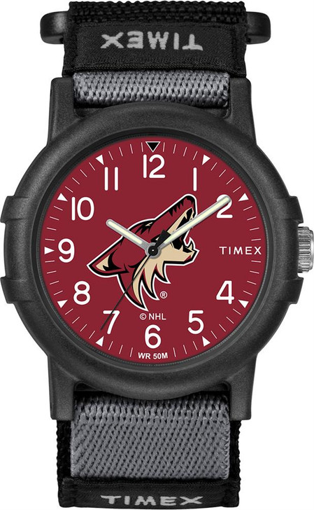 Arizona Coyotes Youth FastWrap Recruit Timex Watch