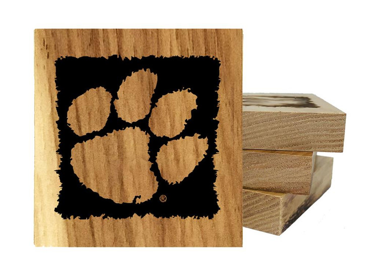 Clemson University Tigers Coaster Set Bottle Opener Made in the USA