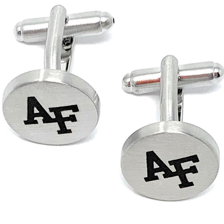Air Force Academy Falcons Cuff Links Silver Cufflink Set