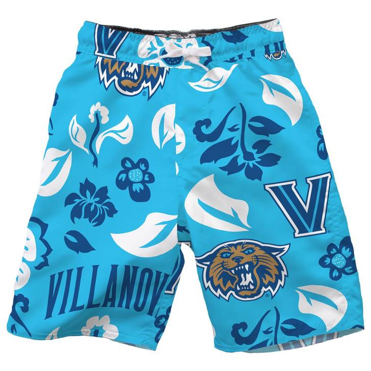 Youth Villanova University Swim Trunks Boys Floral Swim Shorts
