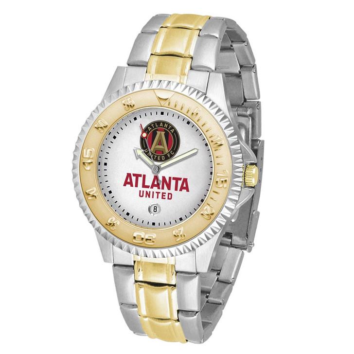 Men's Atlanta United FC Watch Two-Tone Gold Silver Watch