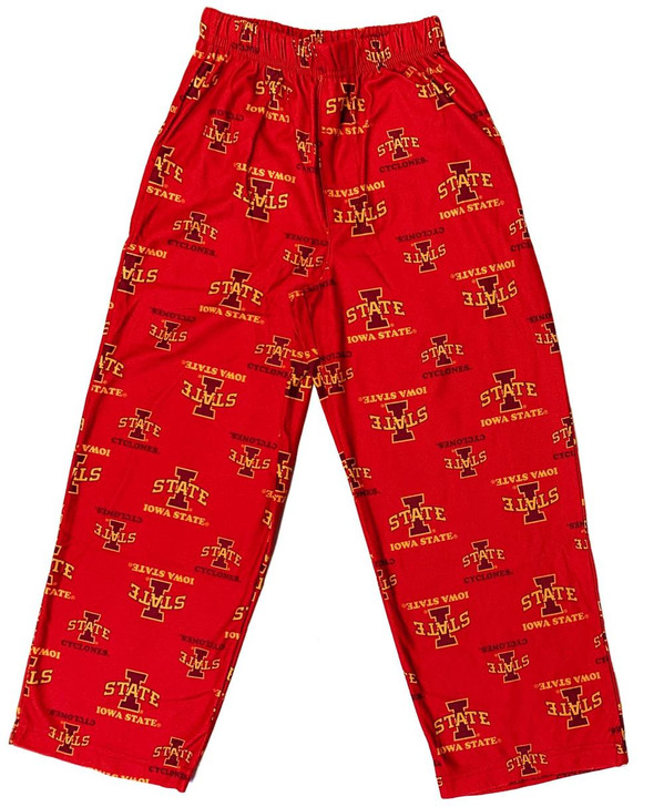 Youth Iowa State Cyclones Pajama Pant Boys Sleep Bottoms