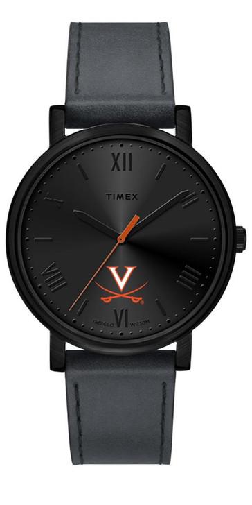 Ladies Timex University of Virginia Cavaliers Watch Black Night Game Watch
