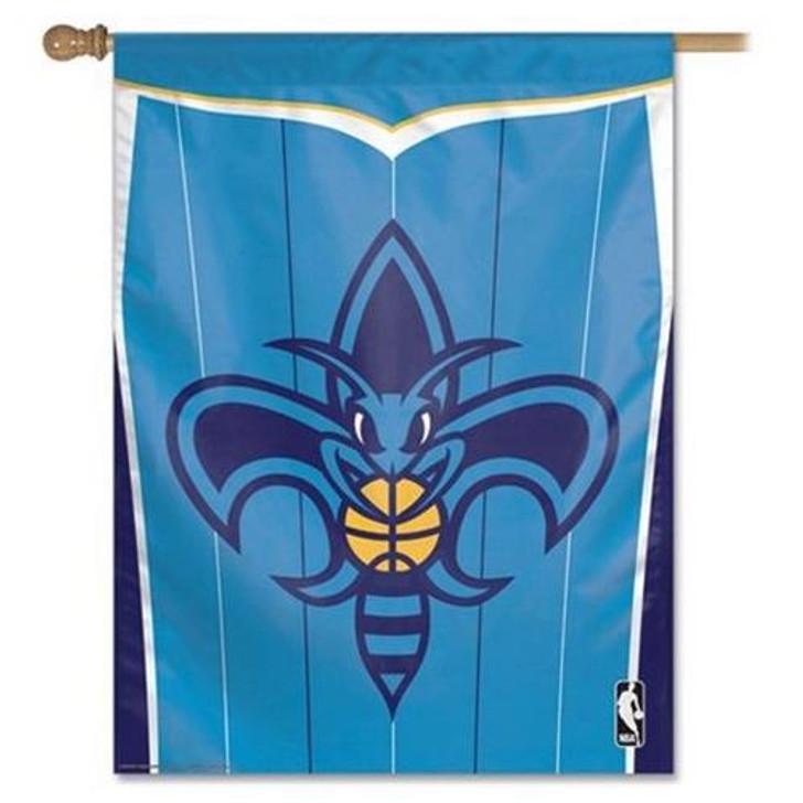 New Orleans Hornets Vertical Outdoor House Flag