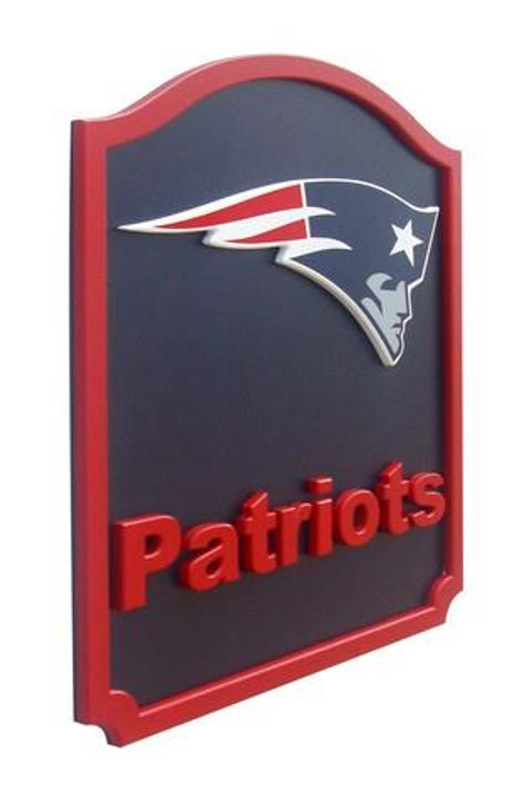 New England Patriots 3-D Shield Wall Art