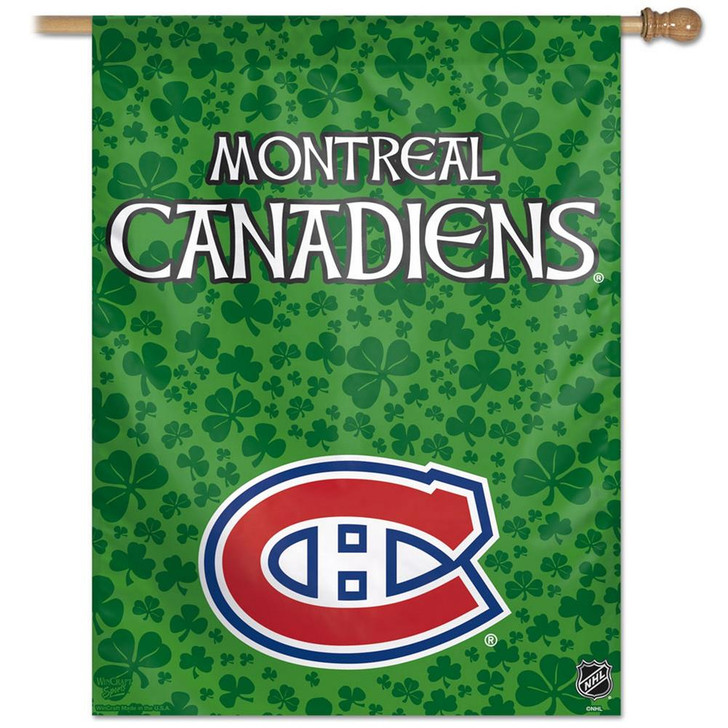 Montreal Canadiens Vertical Outdoor House Flag
