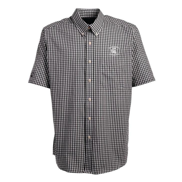 Michigan State University Short Sleeve Button Down Shirt