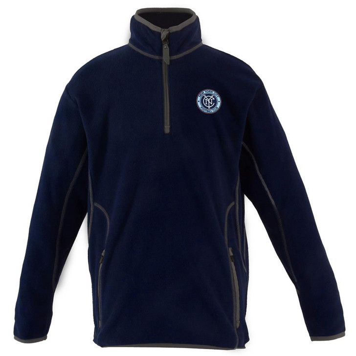 New York City FC Youth Pullover Jacket