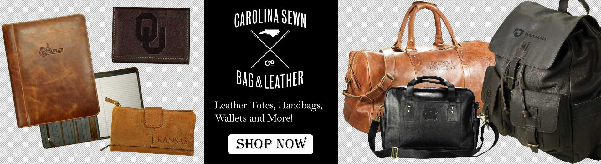 Shop Carolina Sewn Handbags and Wallets