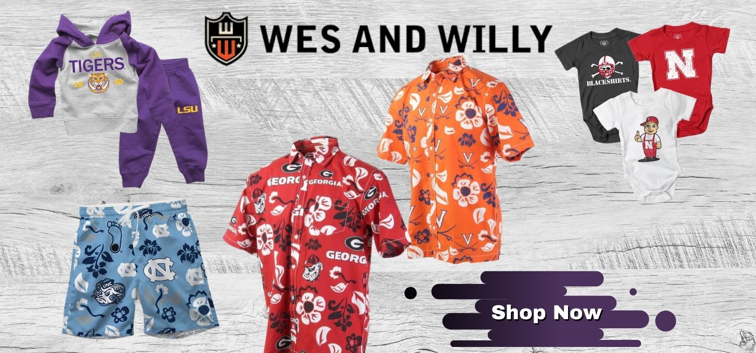 Shop Wes and Willy Fan Gear