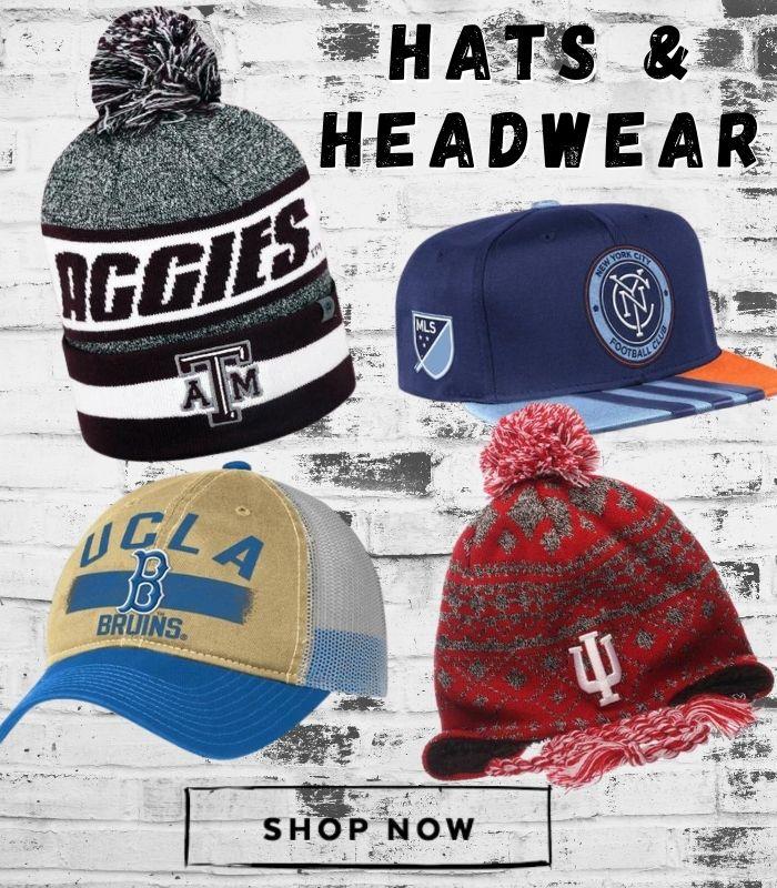 Shop Hats and Headwear