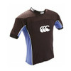 CCC flexitop rugby shoulder pads junior [black/sky]
