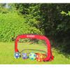 SCHILDKROT fun sports collapsible football (set of 2) goals [red]