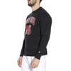 NEW ERA chicago bulls NBA crew neck sweat [black]