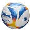 WILSON splatter AVP outdoor/beach volleyball [white/blue/yellow]