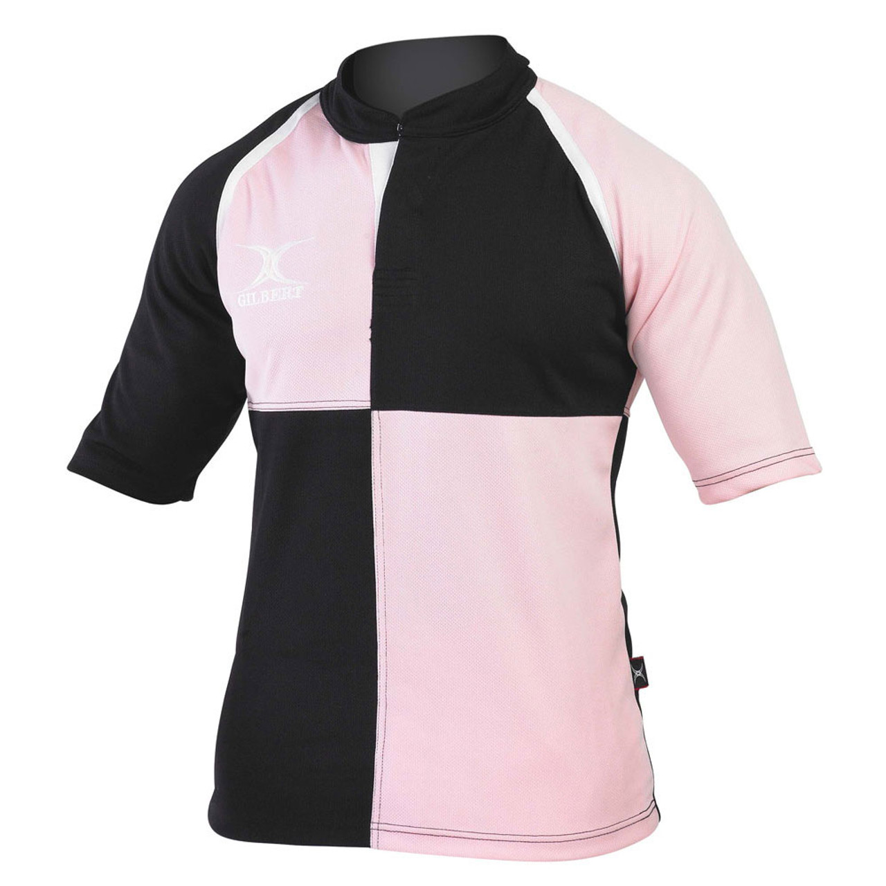 7f695042d94 Black And White Quartered Rugby Shirts - DREAMWORKS