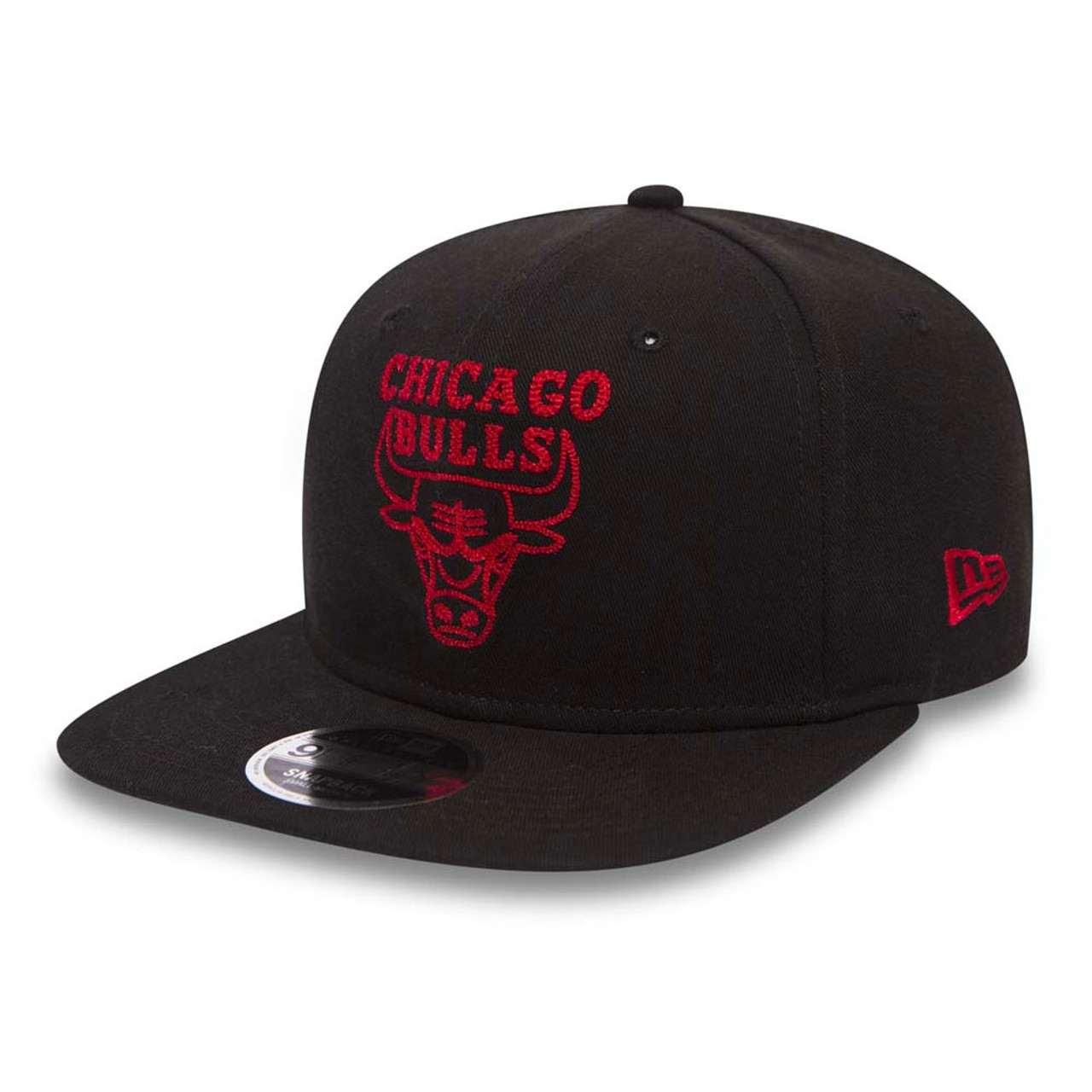 56e03554928 NEW ERA chicago bulls 9fifty chainstitch adjustable basketball cap ...