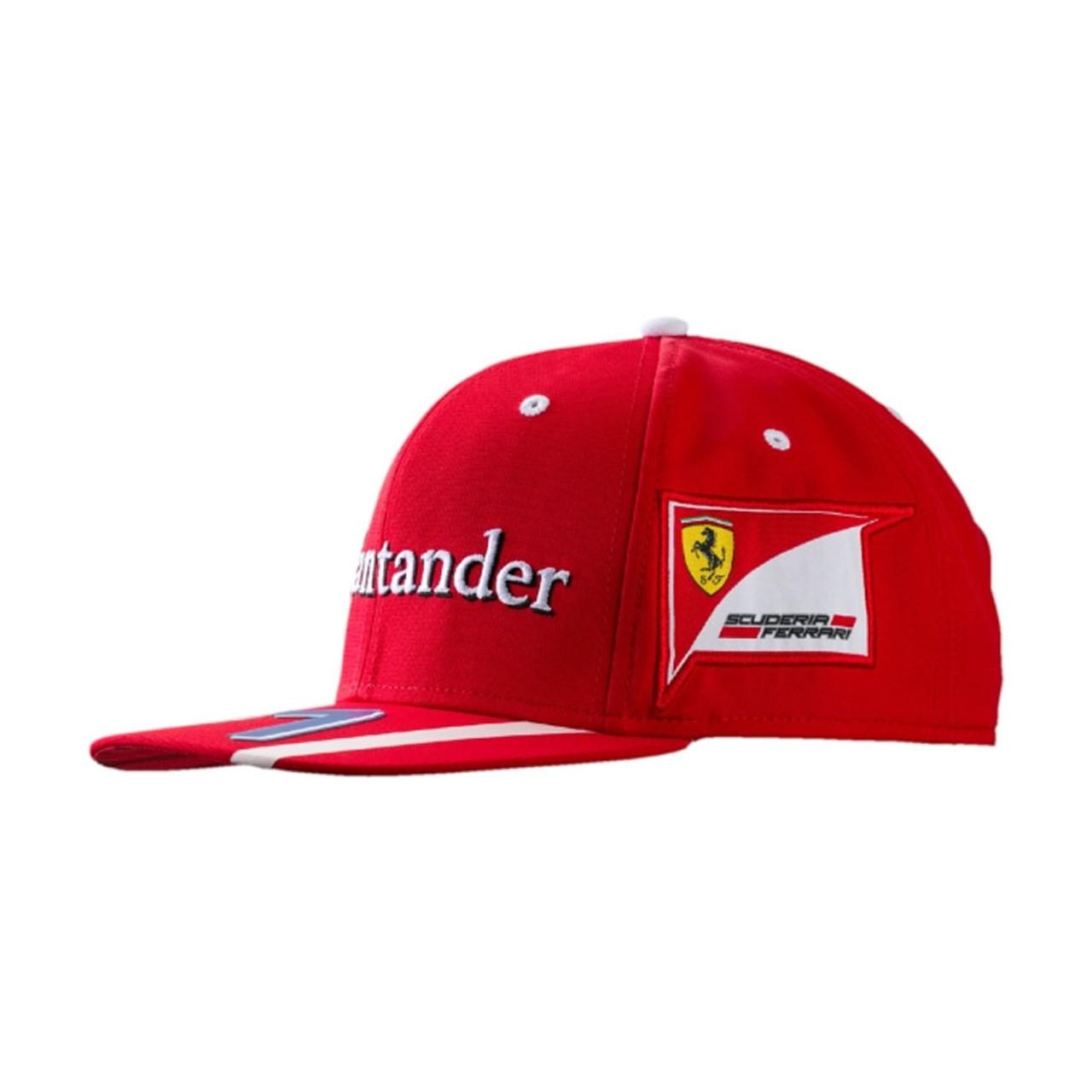 PUMA Ferrari replica raikkonen cap rosso  red  5544a43339f7