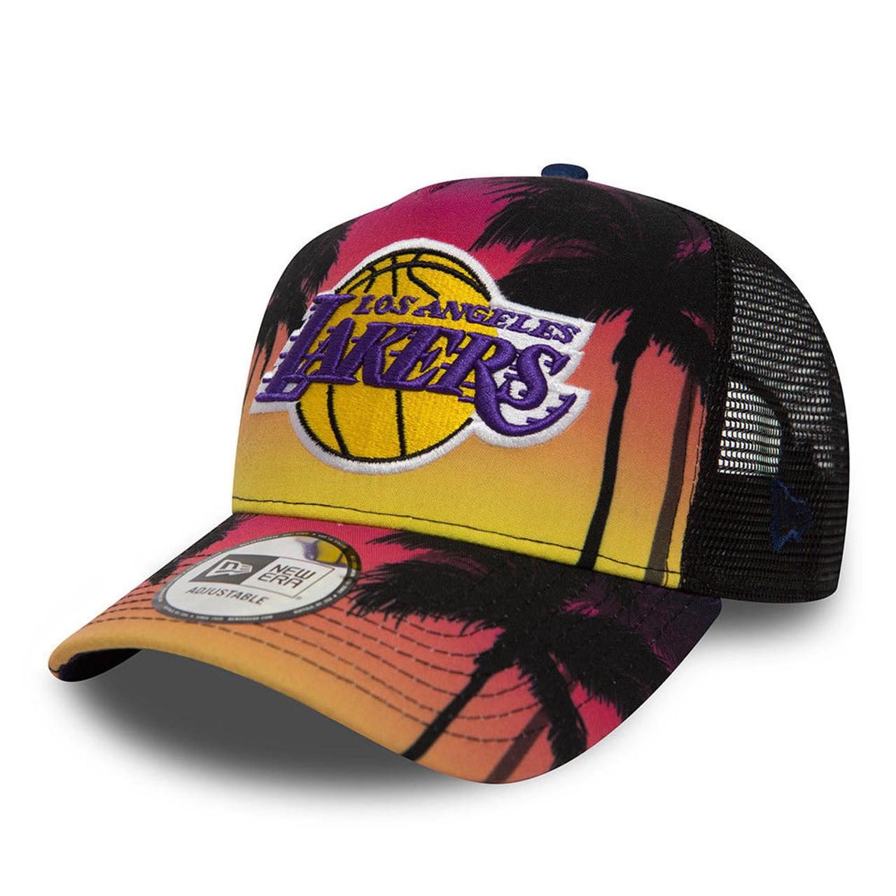 NEW ERA LA lakers basketball NBA coastal trucker cap  multi colours  1c13a5ee1e3