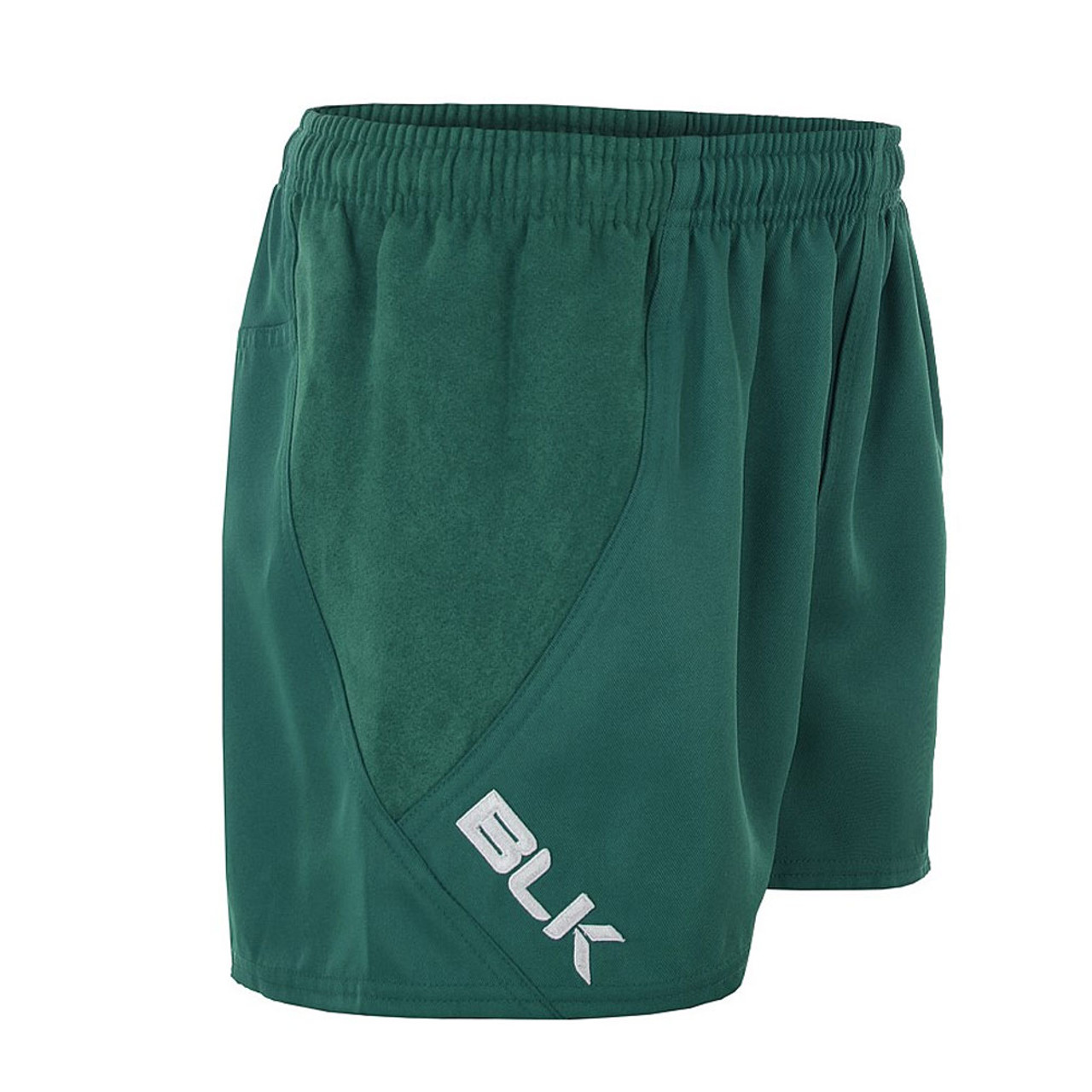 BLK Titanium II playing rugby shorts [Bottle green]