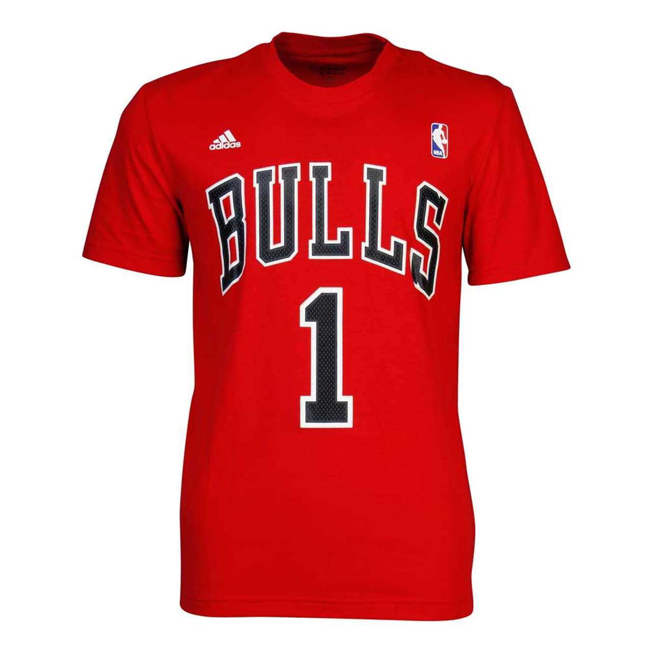 ADIDAS chicago bulls basketball gametime T shirt [Red]